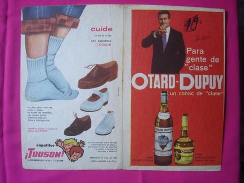 poster revista tv guia lee patterson (surfside 6)