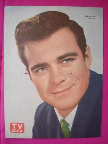 poster revista tv guia n° 50 glenn corbett ruta 66