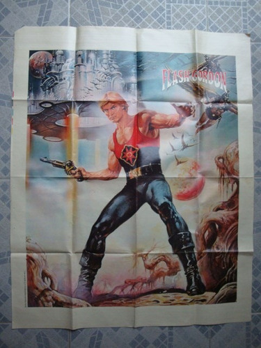 poster revista tv guia n° 924 flash gordon - greta garbo