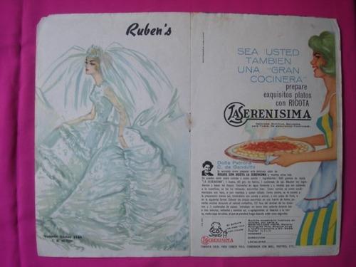 poster revista tv guia  raymond burr (perry mason)