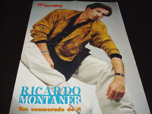 poster ricardo montaner * osvaldo laport * 4 paginas (c073)