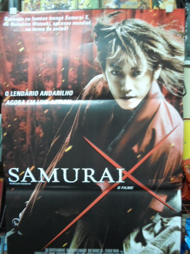 poster samurai x - 64 x 94
