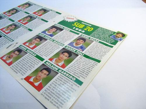 poster selección chilena sub 20 formacion 1995