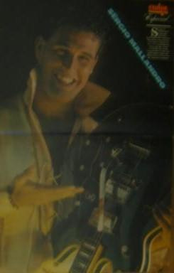 poster sergio mallandro - revista amiga anos 80