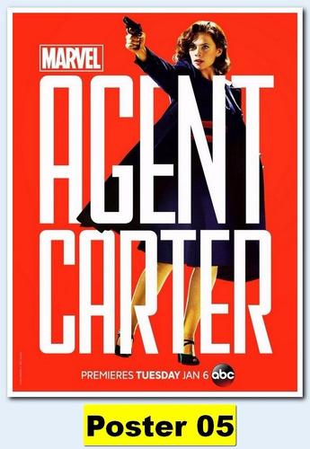 poster séries 30x40 - agent carter