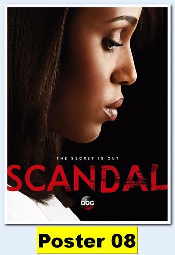 poster séries 30x40 - scandal