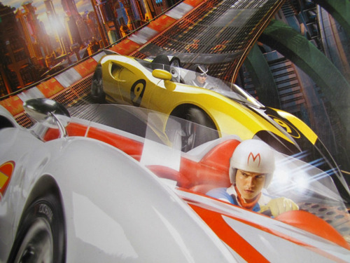 poster speed racer afiche publitario.
