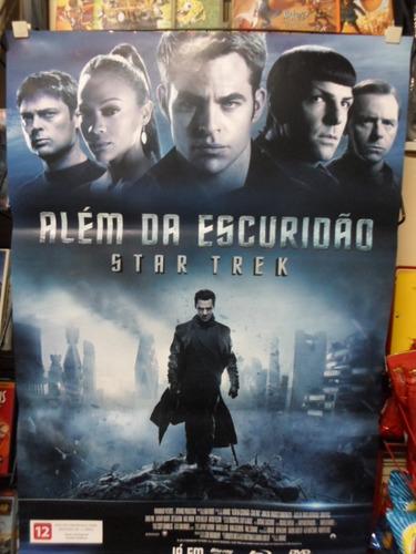 poster star trek - alem da escuridão - frete: 8,00
