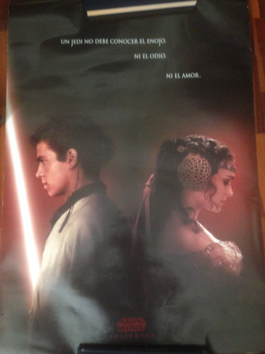 poster: star wars episodio ii