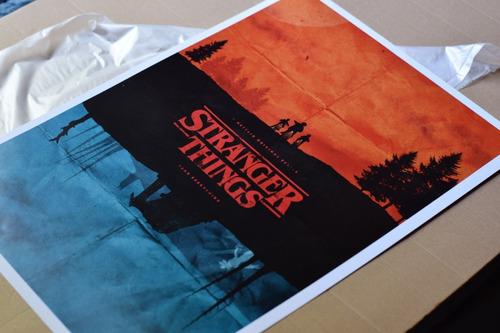 póster stranger things 48 x 33 cm