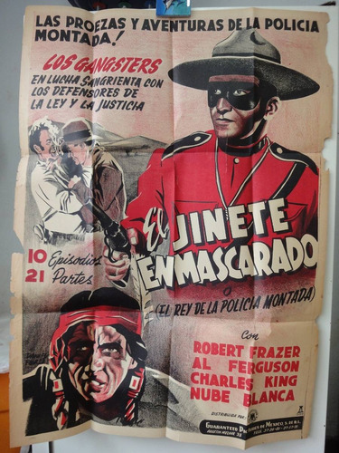 poster the mystery trooper trail of the royal mounted
