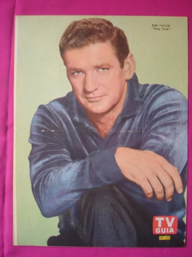 poster tv guia n° 125 rod taylor (hong kong)