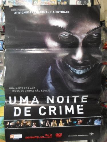 poster uma noite de crime -  64 x 94