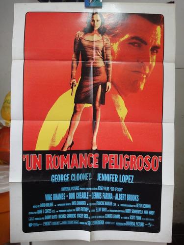 poster un romance peligroso george clooney jennifer lopez 98