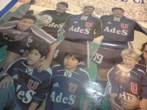 poster universidad de chile campeon 1999.
