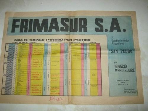 poster uruguay mexico 1970 futbol el diario la mañana