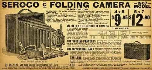 poster vintage retro cámaras fotográficas 60 x 60 cm