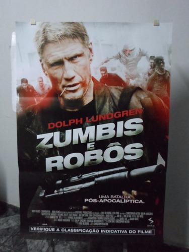 poster zumbis & robos -  64 x 94