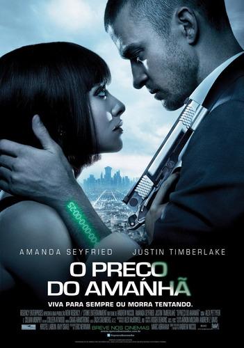 poster/cartaz oficial do filme o preço do amanhã