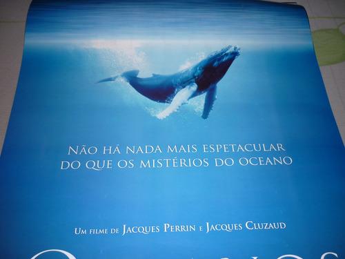 poster/cartaz oficial do filme oceanos