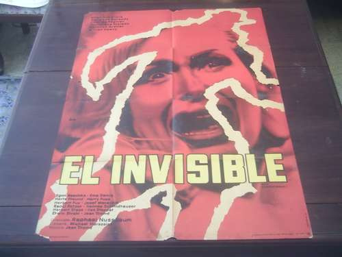 posteroriginal der unsichtbare the invisible terror nussbaum