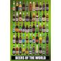 Cervezas Del Mundo Poster - Botellas Maxi 61x 91.5cm Diversi
