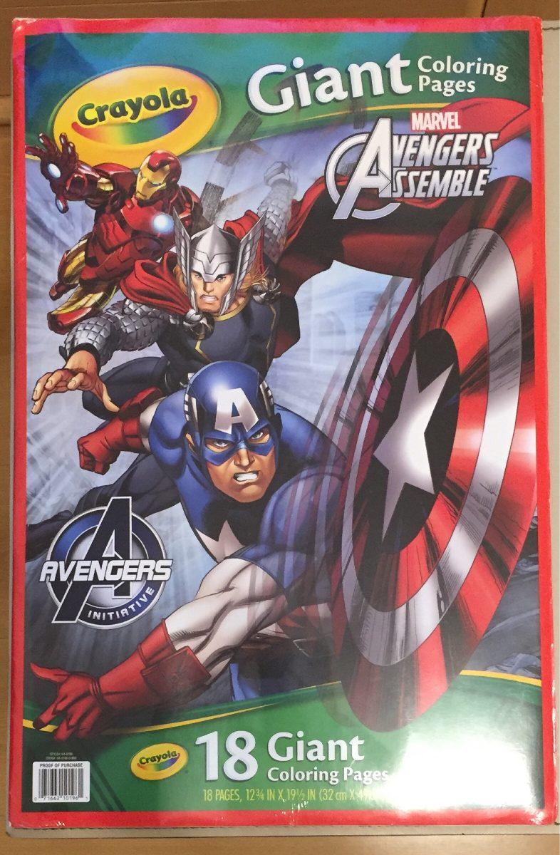Posters Avengers 18 Gigantes Para Colorear Crayola - $ 325,00 en ...