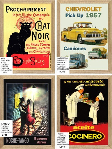 posters carteles cuadros