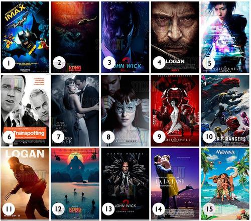 posters / cuadros / full películas / decoración / regalo