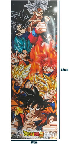 posters dragon ball 5 piezas goku vegeta gogeta envio gratis