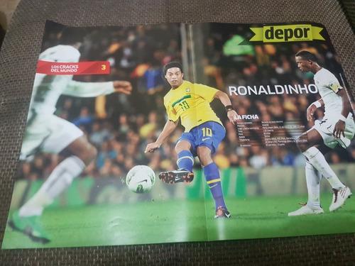 posters edición los cracks del mundo