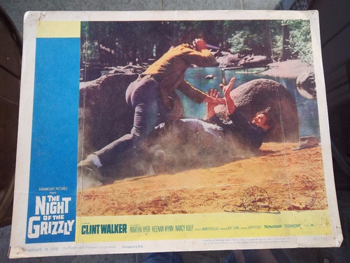 posters/ fotos the night of the grizzly 1965 #577