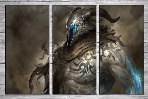 posters gamers guild wars cuadros modernos 90x57 cm a11