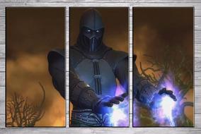 Posters Gamers Noob Saibot Mortal Kombat Cuadros 90x57 Cm C4 - roblox mad city c4 escape