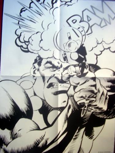 posters historia de los comics, valor por separado