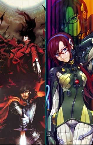 posters naruto - hellsing - sao - danmachi - miku