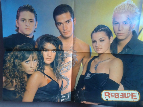 posters  rbd   -  rebelde mexicano