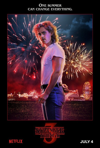 posters stranger things 3 cine afiches series 45x30 cm