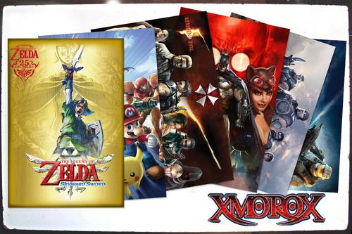 posters videojuegos. mejor calidad,precio y variedad