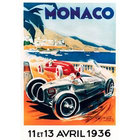 Posters Vintage Automovilismo