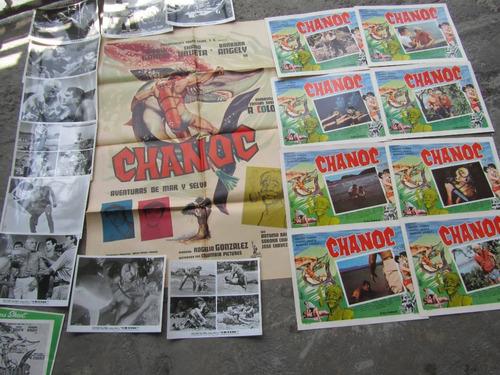 posters y fotos de la pelicula chanoc