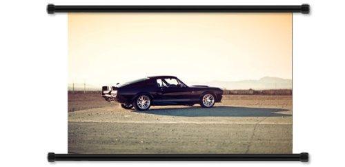 pósters y grabados,ford shelby gt de coches tela pergami..