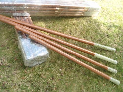 postes 1.6 mts de fibra de vidrio, cerco electrico, boyero