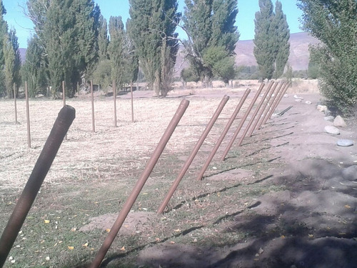 postes 2.2 mts  fibra vidrio alambrados cercos perimetral