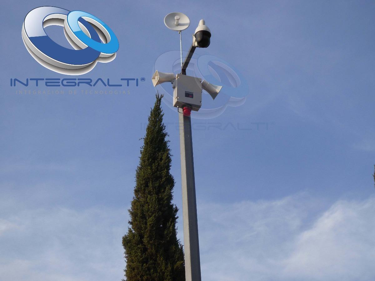 Postes Cctv Camaras De Seguridad Luminarias Paneles