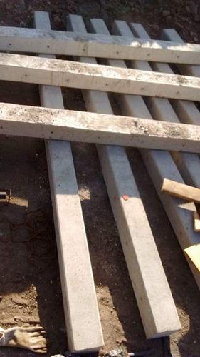 postes de cemento para alambrado olimpico
