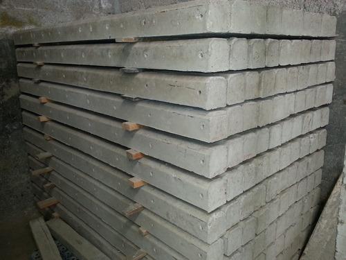 postes de concreto para delimitar predios