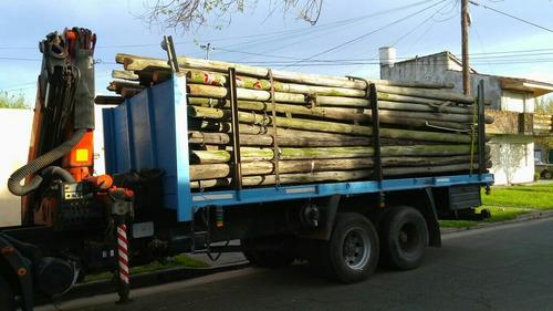 postes de eucalipto tratados con cca  (reciclados )
