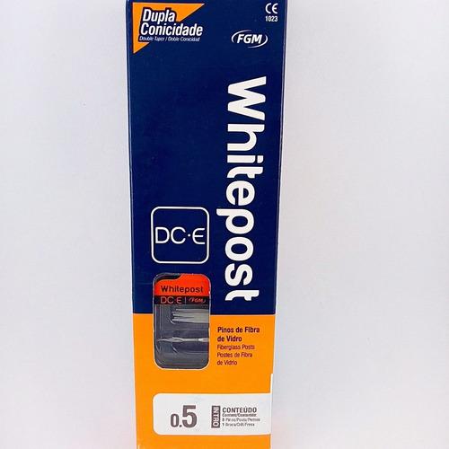 postes de fibra de vidrio whitepost dc-e nro 0.5 kit fgmnova