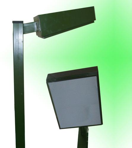 postes de luz fábrica de lámpara y ensamblaje
